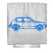 Little Car Shower Curtain