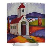 Little Chapel 1 Shower Curtain
