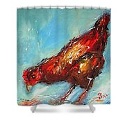 Little Chick  Shower Curtain
