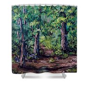 Little Clearing Shower Curtain
