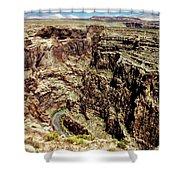 Little Colorado River Shower Curtain