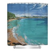 Little Cove View Shower Curtain