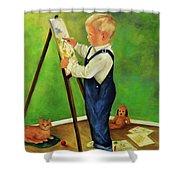 Little Craig Shower Curtain