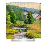 Little Creek Farm Shower Curtain