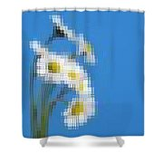 Little Daisies Shower Curtain
