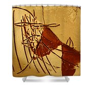 Little Dear - Tile Shower Curtain