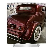 Little Deuce Coupe Aft View Shower Curtain