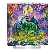 Little Dragon Shower Curtain