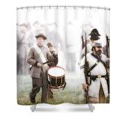 Little Drummer Boy Shower Curtain