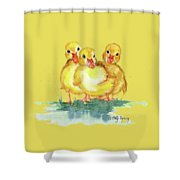 Little Ducks Shower Curtain
