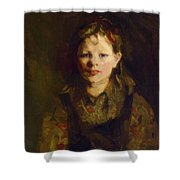 Little Dutch Girl Shower Curtain