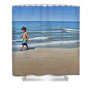 Little Explorer Shower Curtain