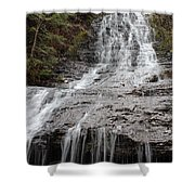 Little Falls Two  Shower Curtain