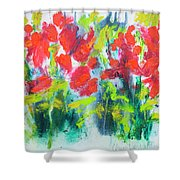 Little Garden 01 Shower Curtain
