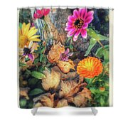 Little Garden Shower Curtain