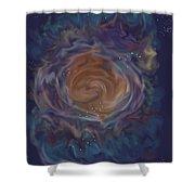 Little Ghost Nebula Shower Curtain