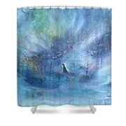 'little Girl Lost' Shower Curtain