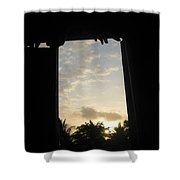 Little Girl Whom Dreams Out A Window Shower Curtain