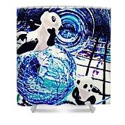 Little Glass Pandas 30 Shower Curtain