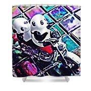 Little Glass Pandas 45 Shower Curtain