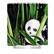 Little Glass Pandas 59 Shower Curtain