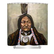 Little Hawk Shower Curtain