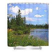 Little Iron Lake Shower Curtain
