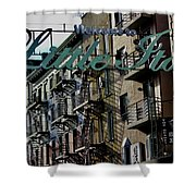 Little Italy In New York Shower Curtain