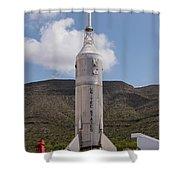 Little Joe 2 Rocket Shower Curtain