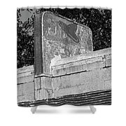 Little Juarez Cafe In Glenrio, Texas Shower Curtain