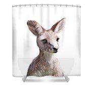 Little Kangaroo Shower Curtain
