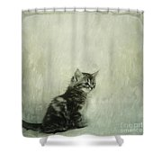 Little Kitty Shower Curtain