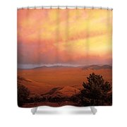 Little Lost Valley Shower Curtain