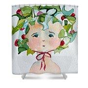 Little Miss Innocent Ivy Shower Curtain