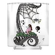 Little Miss Muffet Shower Curtain