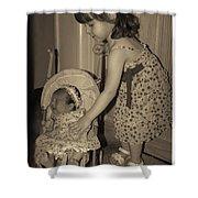 Little Mommy Shower Curtain