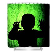 Little Monster Shower Curtain