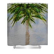 Little Palm Tree Shower Curtain