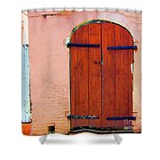 Little Pink House Shower Curtain