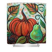 Little Pumpkin 2 Shower Curtain
