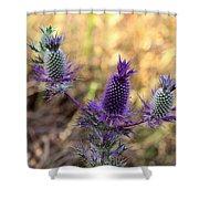 Little Purple Pineapples Shower Curtain