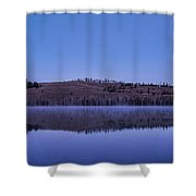 Little Red Fish Lake Shower Curtain
