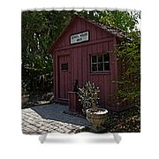 Little Red Schoolhouse Four Shower Curtain