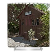 Little Red Schoolhouse Two Shower Curtain