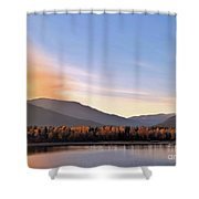 Little River In The Fall 2 Shower Curtain