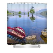 Little Rowboat Shower Curtain