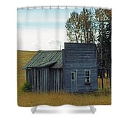 Little Rustic Shack Shower Curtain