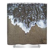'little Sails' In The Surf Shower Curtain