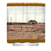 Little Shack On The Prairie Shower Curtain