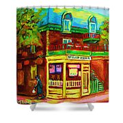 Little Shop On The Corner Shower Curtain